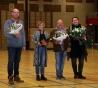 Basketbalvereniging EBV Mustangs zet vrijwilligers in het zonnetje