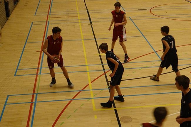 Mini basketbal toernooi voor U12-1 & U12-2